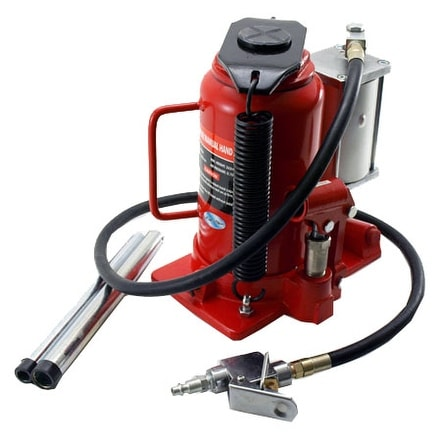Shop 20 Ton Air/Manual Hydraulic Bottle Jack - Free Shipping Today Overstock.com 16057715