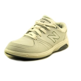 New Balance WW813 2A Round Toe Leather Walking Shoe