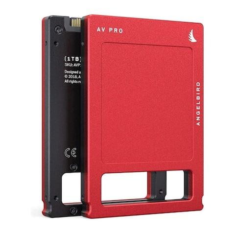 Angelbird 1TB AV PRO MK3 SATA III 2.5-Inch Internal SSD - Red