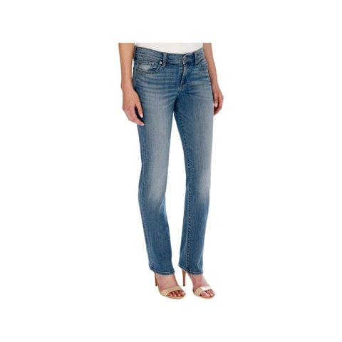 Lucky Brand Womens Classic Straight Jeans Denim Mid-Rise