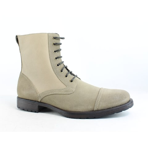 Rush by Gordon Rush Mens Rosen Taupe Ankle Boots Size 11