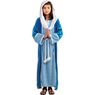 Forum Novelties Deluxe Mary Child Costume (S) - Blue - Small