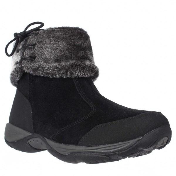 Easy Spirit Elementa Cuffed Hiking Boots, Black Multi