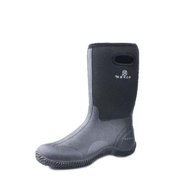 """Roper Outdoor Boots Mens 13"""" Barn Muck Black"""