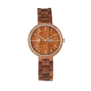 Earth Wood Mimosa Women's Quartz Watch, Wood Band