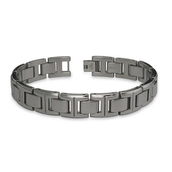 Titanium Men's Link Bracelet - 8.5 inches
