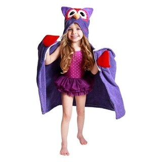 Zoocchini 11107 Olive the Owl Hooded Towel - 50 x 22 in.