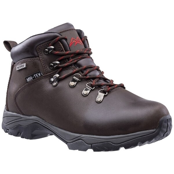 Hawkridge Mens Leather Walking Boots. Opens flyout.