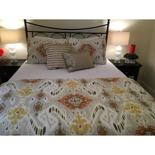 INK+IVY Nia Spice Cotton Duvet Cover Mini Set