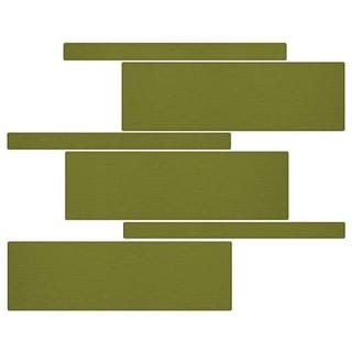 Miseno MT-G5SEAG Nature Mosaic Wall Tile (8.9 SF / Carton)