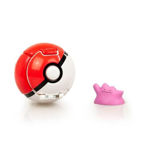 Pokémon Throw 'N' Pop Poké Ball & Ditto Set