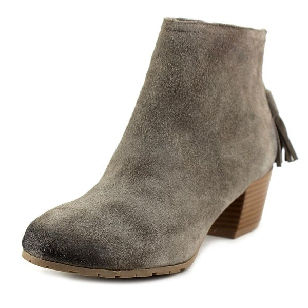 Kenneth Cole Reaction Pil Age Women Round Toe Suede Ankle Boot