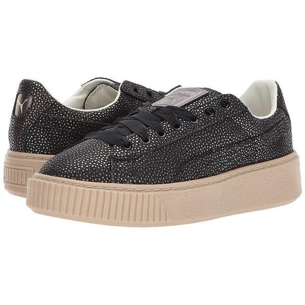 Shop PUMA Women's Platform LUX Wn Sneaker On Sale Free
