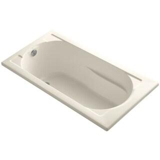 "Kohler K-1184 Devonshire Collection 60"" Drop In Soaking Bath Tub with Reversible Drain"
