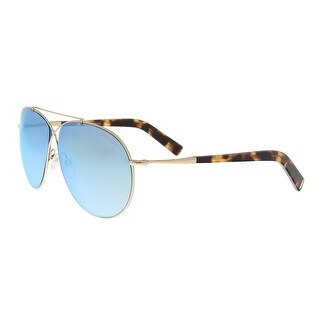 Tom Ford FT0374/S 28X Eva Gold Aviator Sunglasses - 61-10-140