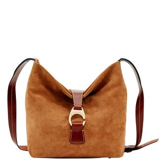 Dooney & Bourke Derby Suede Crossbody Hobo Shoulder Bag (Introduced by Dooney & Bourke at $248 in May 2018)