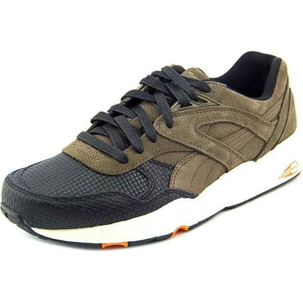 Puma R698 GRID Q4 Men Round Toe Leather Sneakers