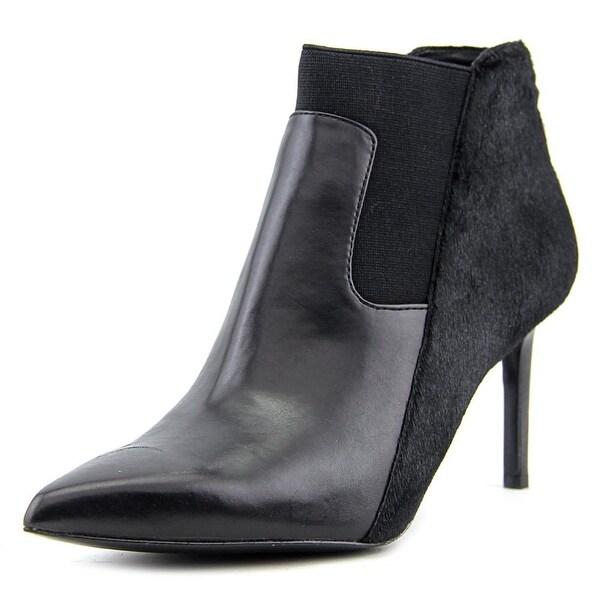 Rachel Zoe HEIDI Women Pointed Toe Suede Black Heels