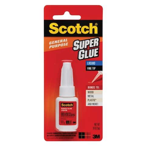 Scotch mad110 super glue liquid - Clear