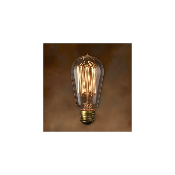 58bef551a57 Shop Bulbrite 136019 Single 60 Watt Dimmable ST18 Shaped Medium (E26) Base  Incandescent Bulb - Antique Clear - N A - Free Shipping On Orders Over  45  ...
