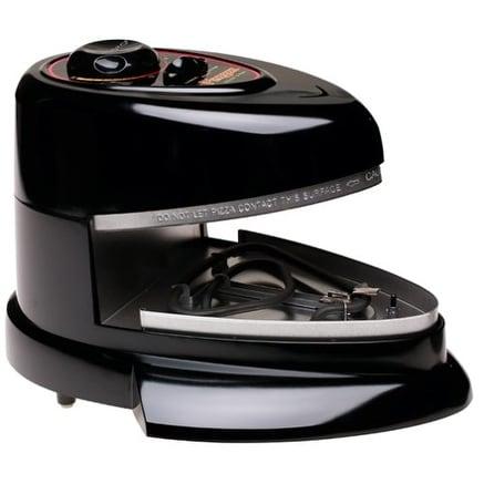 Presto 03430 Pizzazz Non-Stick Rotating Pizza Oven - Black