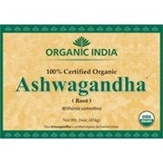 Organic India Bulk Herb Ashwagandha Root Powder, 1 Pound