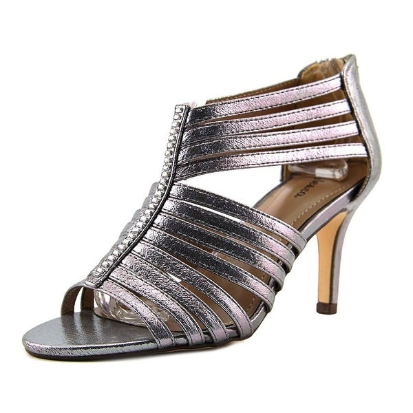 Style & Co Shaynaa Women Open Toe Synthetic Gray Sandals