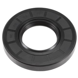 Oil Seal, TC 40mm x 80mm x 12mm, Nitrile Rubber Cover Double Lip - 40mmx80mmx12mm