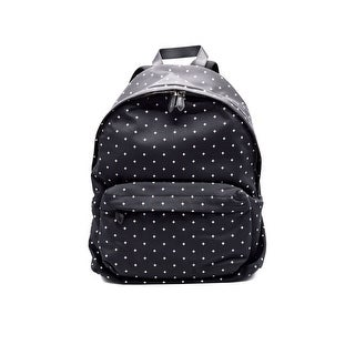 Givenchy Black White Cross-print Leather Backpack