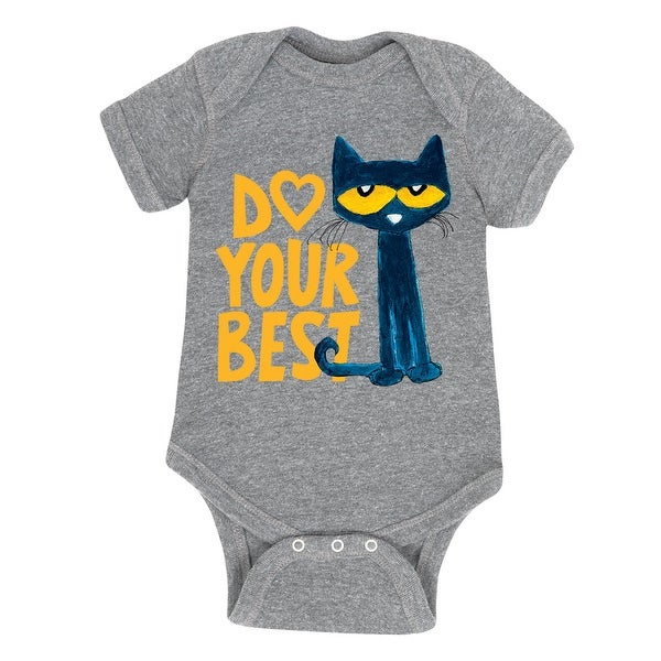 Pete The Cat Do Your Best - Infant One Piece