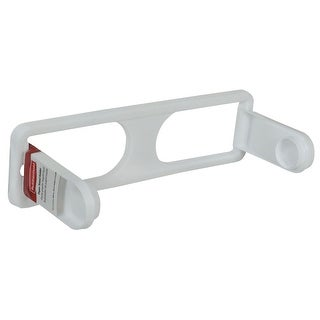 Rubbermaid 236187  Adjustable Wall Mounted Plastic Paper Towel Holder - White