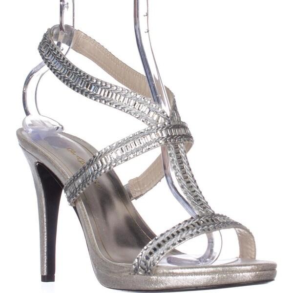 Caparros Givenchy Platform Dress Sandals, Eggshell
