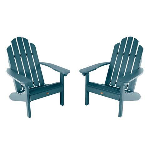 2 Highwood Classic Westport Adirondack Chairs