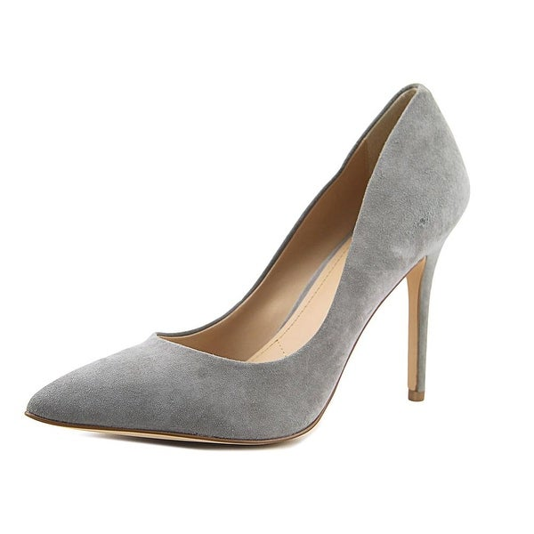 Charles By Charles David Pact Women Pointed Toe Suede Gray Heels