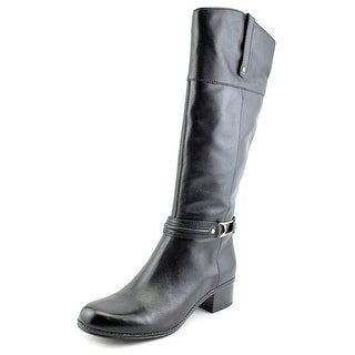 Bandolino Coloradee Round Toe Leather Knee High Boot
