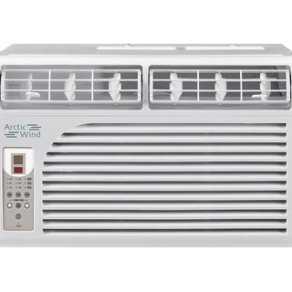 Arctic Wind AW8005E 2016 Energy Star 8,000 BTU Window Air Conditioner - White