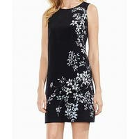 Vince Camuto Womens Floral-Printed Sheath Dress