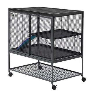 "Midwest Critter Nation Single Level Pet Pen Gray 36"" x 24"" x 39"""