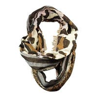 Collection Eighteen Women's Animal Print Infinity Scarf - os