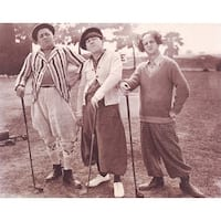 ''The Three Stooges: Golf'' by Anon Sports/Games Art Print (11 x 14 in.)