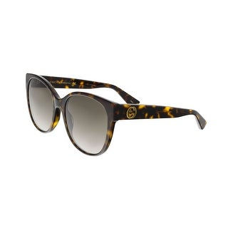 Gucci GG0097S 002 Havana Round Sunglasses