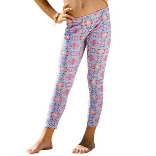 Sun Emporium Girls Milkshake Pink Summer Daze Print Leggings