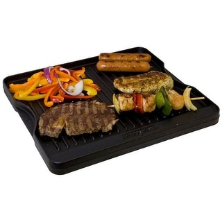"Camp Chef 033246205847 Reversible Grill & Griddle, 14"" x 16"""