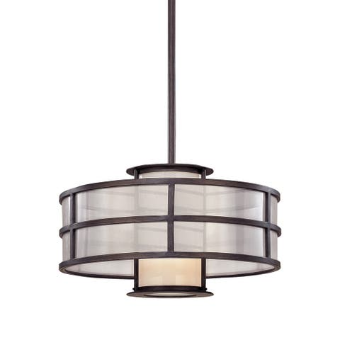 Troy Lighting Discus 1-light Small Pendant