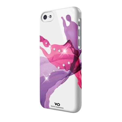 White Diamonds Liquids Case for Apple iPhone 5c (Pink)