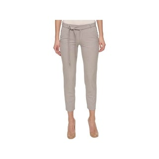 Tommy Hilfiger Womens Ankle Pants Heathered Formal