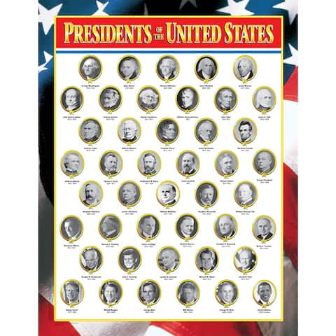 (6 Ea) Us Presidents
