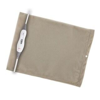 Sunbeam 749-811-825 Health at Home Standard Moist Heating Pad Beige