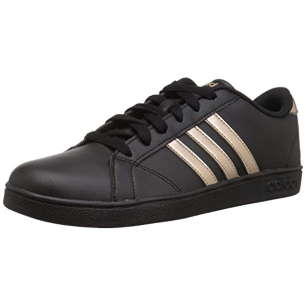 sports shoes 986eb ab69a Adidas Originals Unisex-Kids Baseline Sneaker, Black Copper Metallic Black