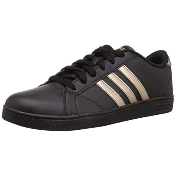 sports shoes 156c1 ac72e Adidas Originals Unisex-Kids Baseline Sneaker, Black Copper Metallic Black
